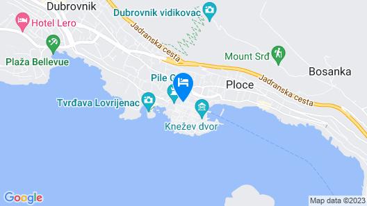 Boutique Hotel Stari Grad Map
