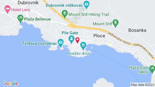 PRIJEKO PALACE Map