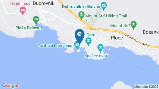 Orhan Rooms Dubrovnik Map