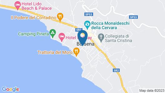 Villa Gualterio Map