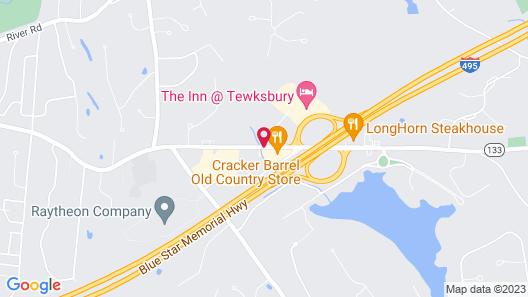 Residence Inn By Marriott Boston Tewksbury Map
