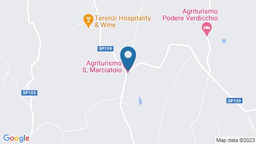 Agriturismo Il Marciatoio Map