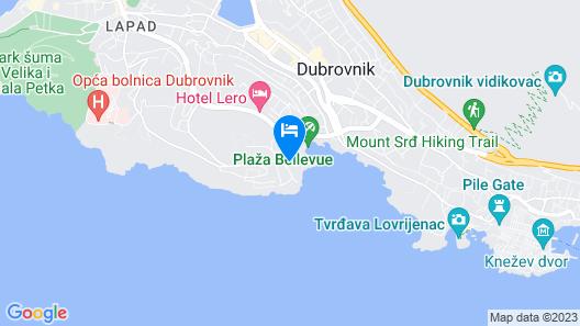 Rixos Premium Dubrovnik Map