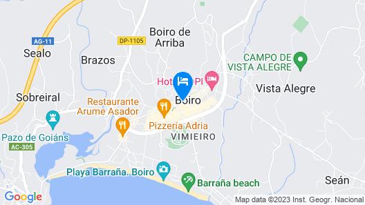 104367 -  House in Boiro Map