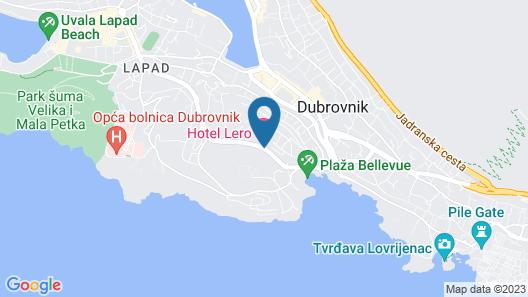 Hotel Lero Map