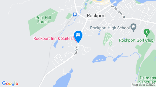 Rockport Inn And Suites Map