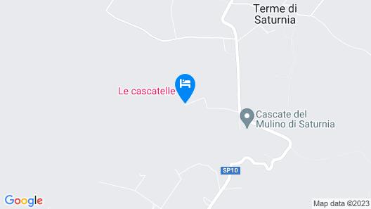 Agriturismo Le Cascatelle Map