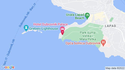 Dubrovnik Palace Map