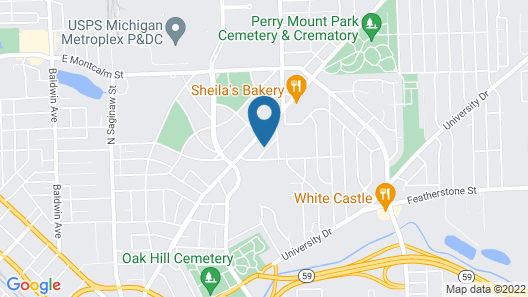 Pontiac Guest House Map
