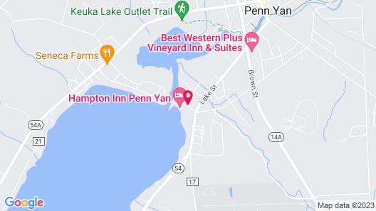 Hampton Inn by Hilton Penn Yan Map