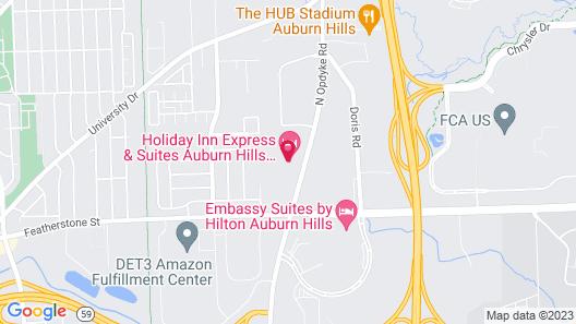 Holiday Inn Express Auburn Hills South, an IHG Hotel Map
