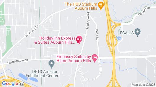 Staybridge Suites Auburn Hills, an IHG Hotel Map