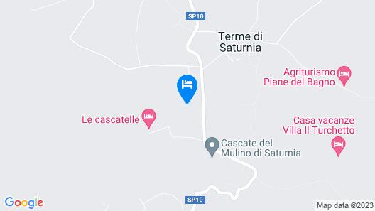 B & B 8380 - Pian Del Molino Map