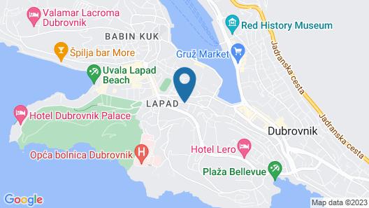 Hotel Ivka Map