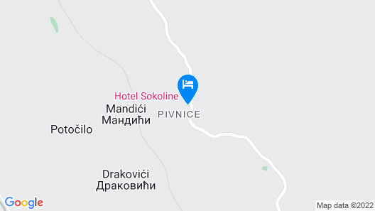 Hotel Sokoline Map