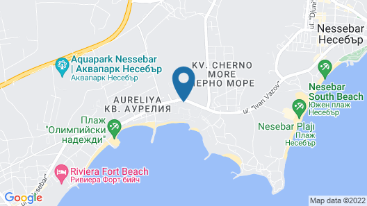 Sol Nessebar Mare Map