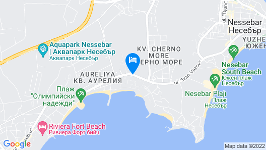 Sol Nessebar Bay - All Inclusive Map