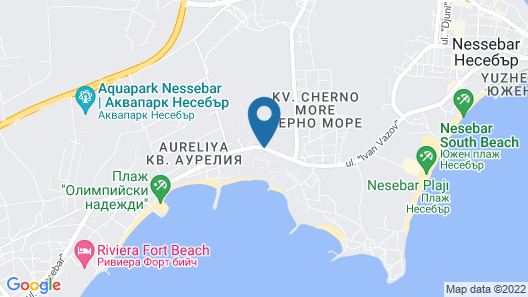 Sol Nessebar Palace - All Inclusive Map