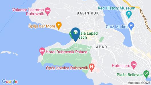 Hotel Komodor Map
