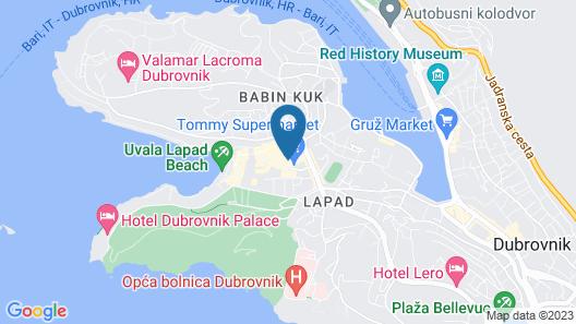 Villa Filaus Map