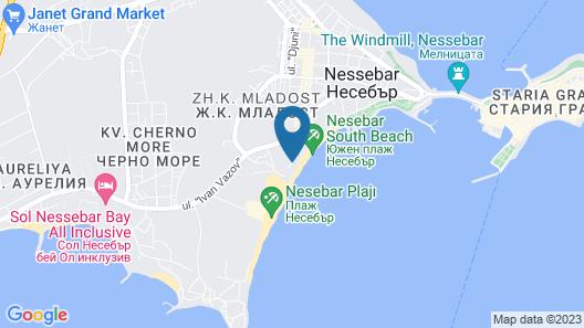 Aphrodite Beach Hotel Map