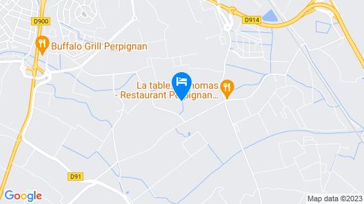 L´oliveraie Map