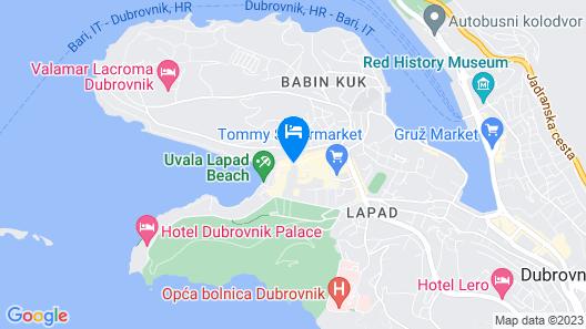 Hotel Perla Map