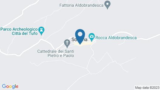 Albergo Scilla Map