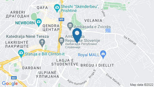Hotel Afa Map