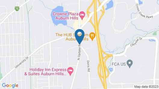 Baymont by Wyndham Auburn Hills Map