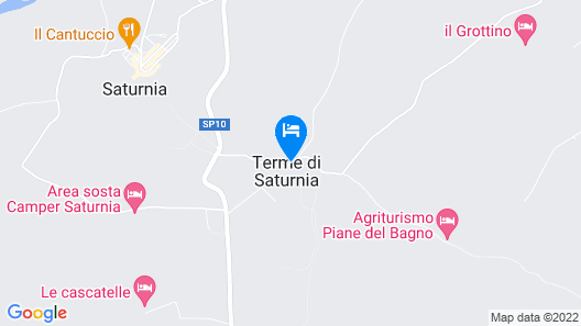 Terme di Saturnia Natural Spa & Golf Resort - The Leading Hotels of the World Map