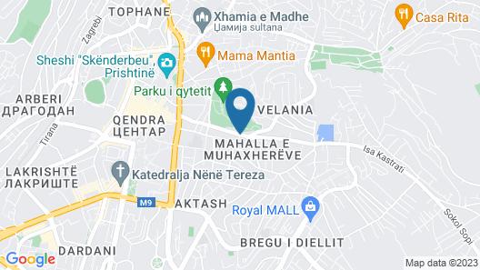 Hotel Gloria Map