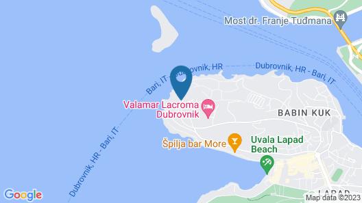 Dubrovnik President Valamar Collection Hotel Map