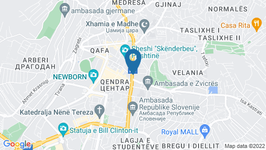 Hotel Sirius Map