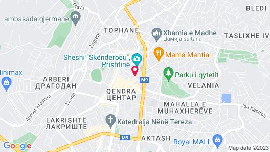Swiss Diamond Hotel Prishtina Map