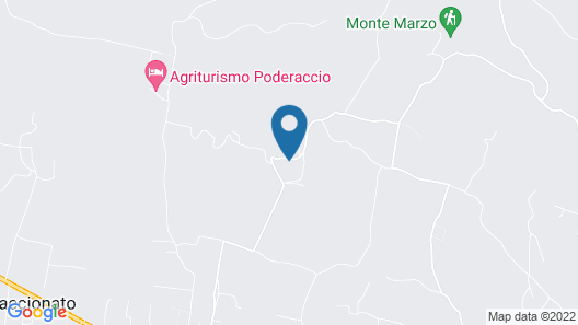Agriturismo Borgo Podernovo Map