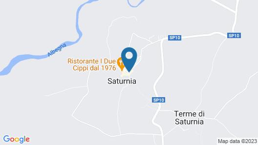 Camere Saturnia Map