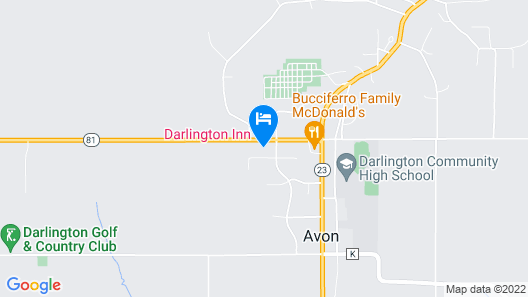 Darlington Inn Map