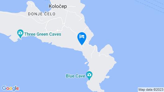Kalamota Beach House Map