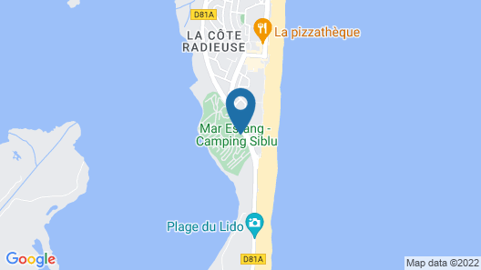 Camping Officiel Siblu Mar Estang Map