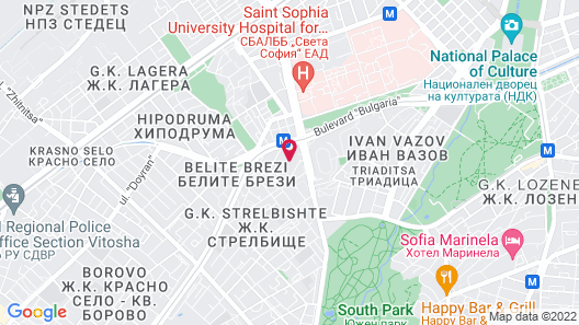 Baratero At Home Apartments Map