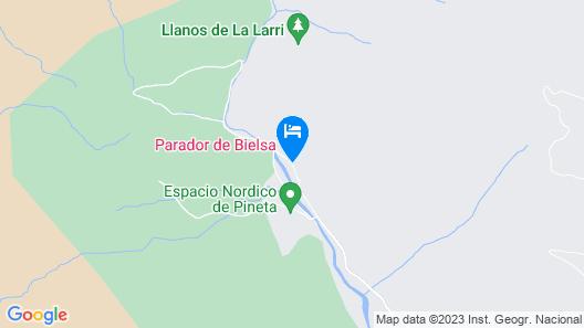 Parador De Bielsa Huesca Map