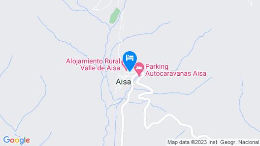 Valle de Aisa Map