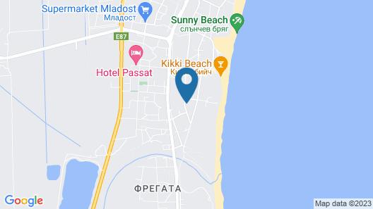 Tiara Beach Map