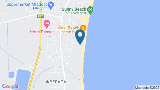 Burgas Beach Map