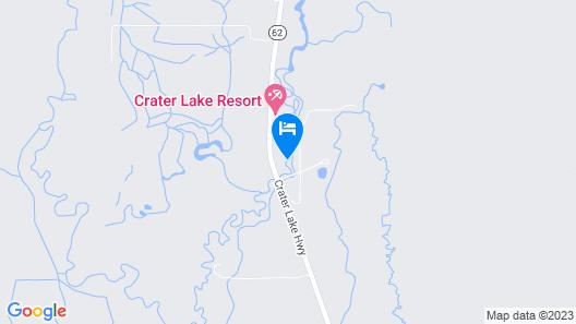 Soaring Eagle · Soaring Eagle on Fort Creek-CraterLake Bungalows Map