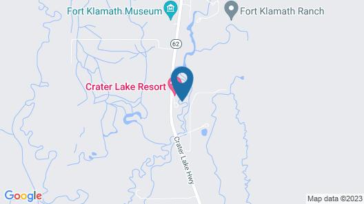 Crater Lake Resort Map
