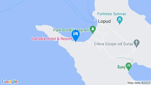 Lafodia Apartments Map
