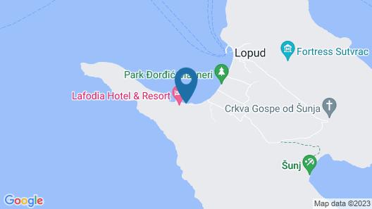 Lafodia Sea Resort Map
