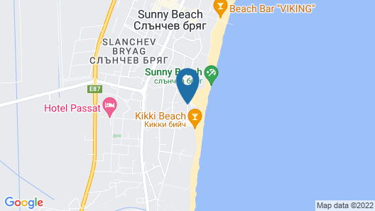 Hotel Pomorie Sun Map